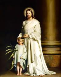 Christ and the young child, bloch